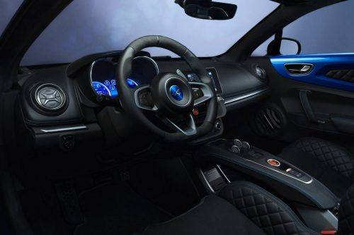 Idée Cadeau Dream Cars Events Comar - Alpine Renault A110S Interieur