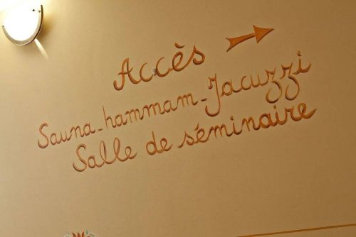 Idée Cadeau Hôtel Athéna Brides-les-Bains - acces sauna