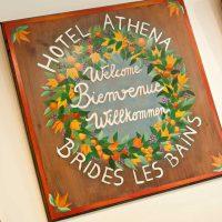 Idée Cadeau Hôtel Athéna Brides-les-Bains - bienvenue
