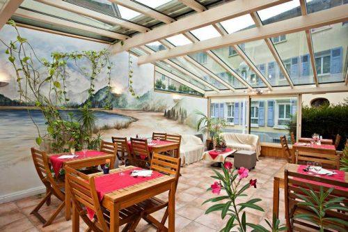 Idée Cadeau Hôtel Athéna Brides-les-Bains - le restaurant