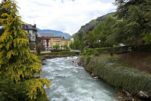 Idée Cadeau Hôtel Athéna Brides-les-Bains - vue le village
