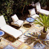 Idée Cadeau Maison Saint-Louis Besse-sur-Issole - détente en terrasse
