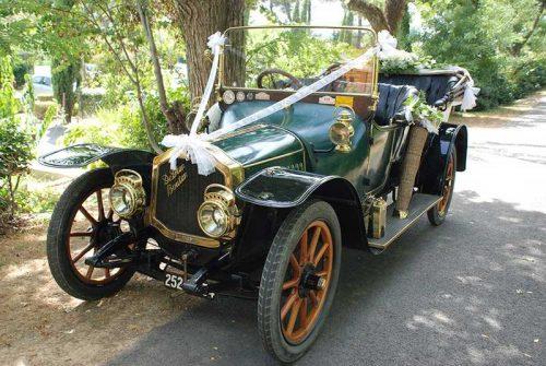 Idée Cadeau Nos Belles Anciennes Montferrier-sur-Lez - DeDion Bouton 1912