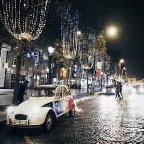 Idée Cadeau Paris Authentic - balade de nuit en 2cv - 2