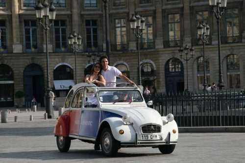 Idée Cadeau Paris Authentic - nouvelle 2CV