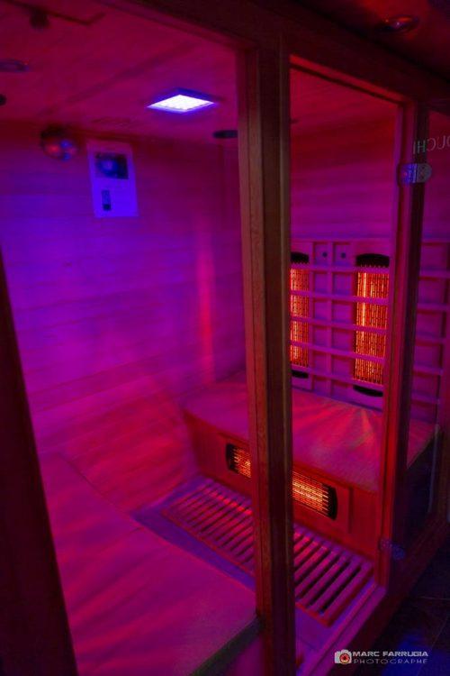 Idée Cadeau Spa Source de la Sainte-Baume Plan-d'Aups - le sauna infrarouge