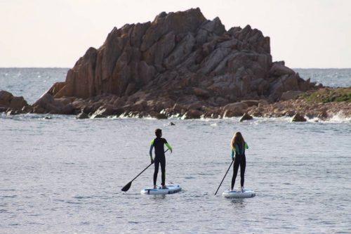 Idée Cadeau Surfing Locquirec - Balade en paddle