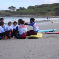 Idée Cadeau Surfing Locquirec - Cours collectif surf