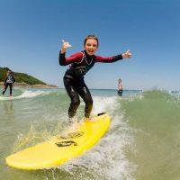 Idée Cadeau Surfing Locquirec - cours de surf