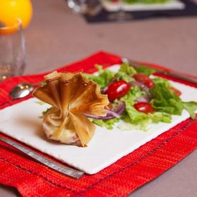 Idée Cadeau L'échappée trémoussante Saint-Barthélémy-de-Vals - une belle assiette