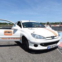 Idée Cadeau Patricia Bertapelle Atout Vitesse Richwiller - Peugeot 206 S16