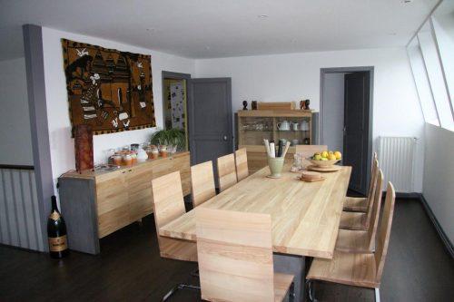 Idée Cadeau Chambres d hotes les Epicuriens Epernay - Salle à manger 2ème étage