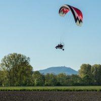Idée Cadeau Ecole Alsace Paramoteur Elsenheim - Vol en approche