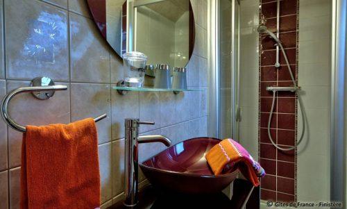 Idée Cadeau Gites et Chambres d hotes de Lanevry Douarnenez-Kerlaz - Gite Geranium la salle d eau