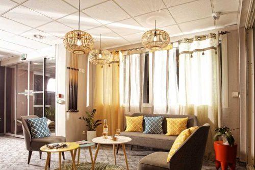 Idée Cadeau Hotel le Monestié Boujan-sur-Libron - le salon