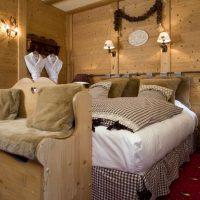 Idée Cadeau Hotel les Grands Montets Chamonix - Chambre Esprit Montagne 4