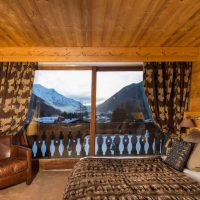 Idée Cadeau Hotel les Grands Montets Chamonix - Chambre Esprit Montagne Vue Mont Blanc 1