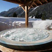 Idée Cadeau Hotel les Grands Montets Chamonix - Spa exterieur