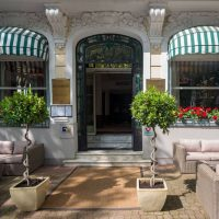 Idée Cadeau Les Nations Hotel Restaurant Vichy - entree hotel