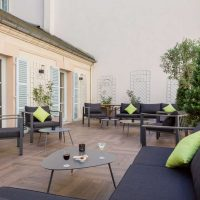 Idée Cadeau Les Nations Hotel Restaurant Vichy - la terrasse lounge