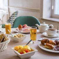 Idée Cadeau Les Nations Hotel Restaurant Vichy - le petit dejeuner