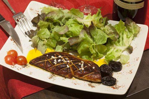 Idée Cadeau Restaurant Le Domaine de Lintillac Paris - foie gras poêlé