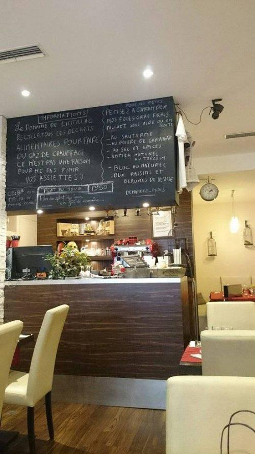 Idée Cadeau Restaurant Le Domaine de Lintillac Paris - le bar