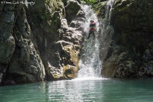 Idée Cadeau Aventure Chlorophylle Louvie-Juzon - Canyoning Oxygen journee initiation sportive 7