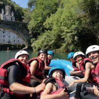 Idée Cadeau Aventure Chlorophylle Louvie-Juzon - Rafting Gave de Pau 4