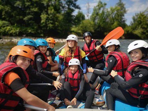 Idée Cadeau Aventure Chlorophylle Louvie-Juzon - Rafting Gave de Pau 5