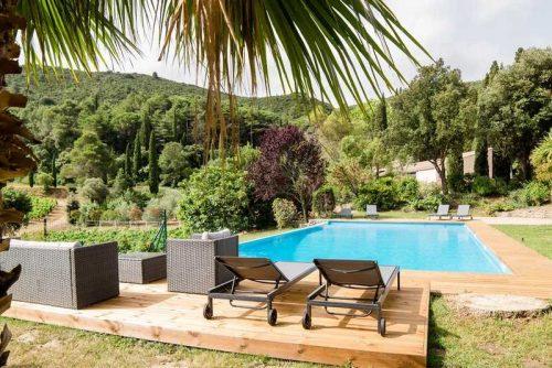 Idée Cadeau Chateau Haut Gleon Villesèque-des-Corbières - la piscine 2