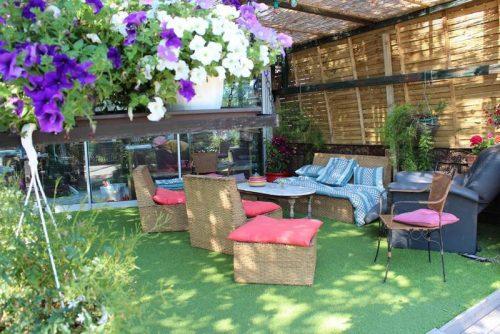 Idée Cadeau La Maison de Verotte Claira - la terrasse