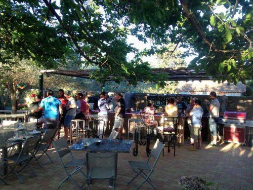 Idée Cadeau La Maison de Verotte Claira - le bar exterieur