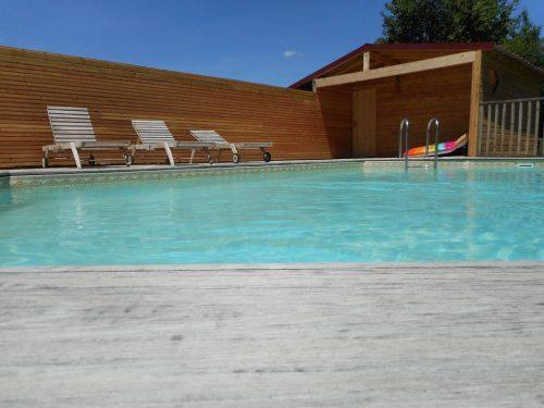 Idée Cadeau Moulin de la Diversiere Savigné-sous-le-Lude - la piscine - 2