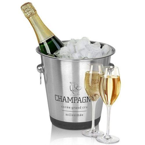 Idée Cadeau Le Colombier de Kerguezec Surzur - seau champagne coupes