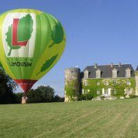 Idée Cadeau Hotel Chateau de la Cote Biras - bapteme en montgolfiere
