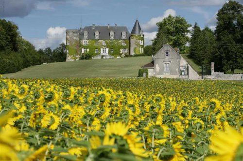 Idée Cadeau Hotel Chateau de la Cote Biras - le parc