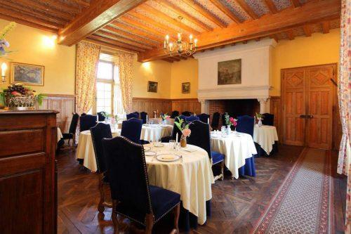 Idée Cadeau Hotel Chateau de la Cote Biras - le restaurant