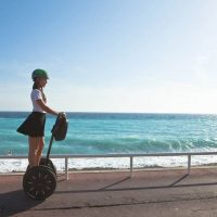 Idée Cadeau Segway Mobiliboard Nice - segway en bord de mer