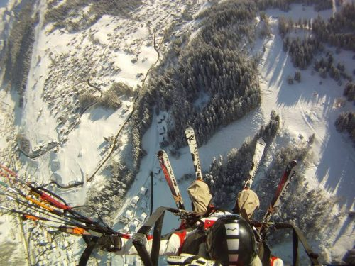 Idée Cadeau Aeroslide Dingy-Saint-Clair - parapente hiver la cluzaz 2