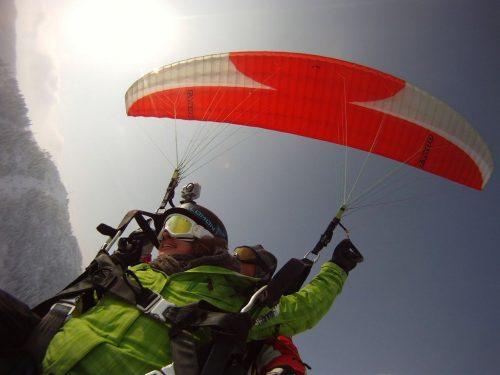 Idée Cadeau Aeroslide Dingy-Saint-Clair - parapente hiver la cluzaz