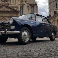 Idée Cadeau Paris Balade - Peugeot 404 Paris Pantheon